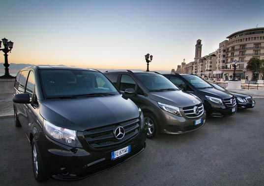Parco auto noleggio a Bari