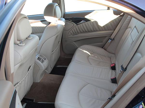 Mercedes classe E spaziosa
