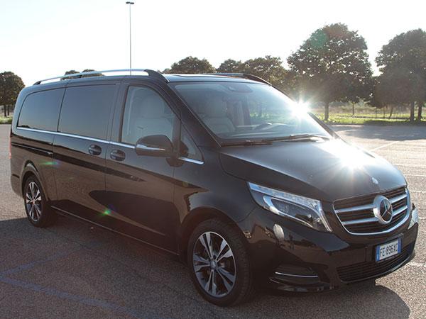 Mercedes Classe V Logistic Service