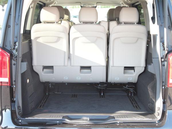 Bagagliaio Mercedes Classe V